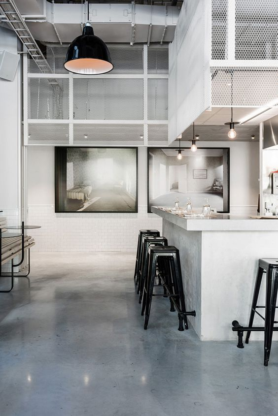 An Old Sausage Factory In Sweden Was Stripped Bare Only To Turn Into A Very Urban Gastronomic Spots Called The Usine Its Interior Design Made By Richard
