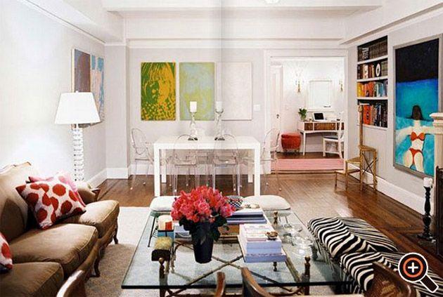 Moderne Wohnzimmer einrichten – Ideen, Deko, Wandbilder ...
