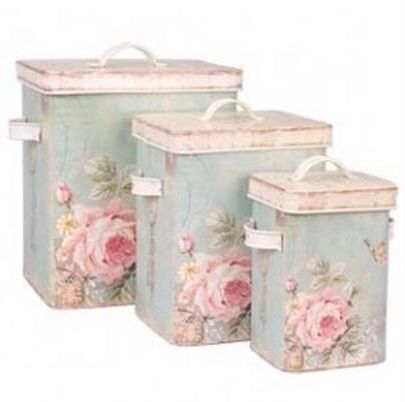 Decoupage and Paint Boxes Shabby Chic Style