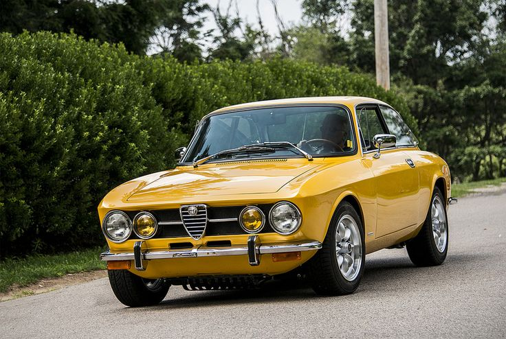 Alfa Romeo. Love the color on that car. Everything about it is just perfection, and that's so hard for me to say about anything.