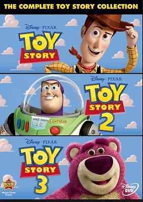 Toy Story Trilogy 1-3 Pixar / Disney DVD Brand New & Sealed Free Shipping