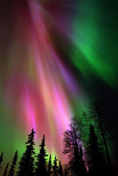 Aurora borealis from Finland :3
