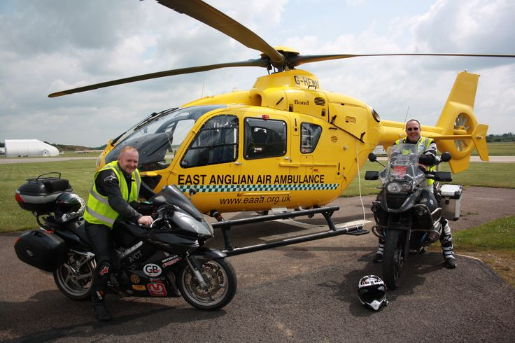 The boys are visiting air ambulances across Great Britain to raise money for these great charities. On 27th June 2013, they arrived at our Cambridge base and met our crew and Anglia Two.