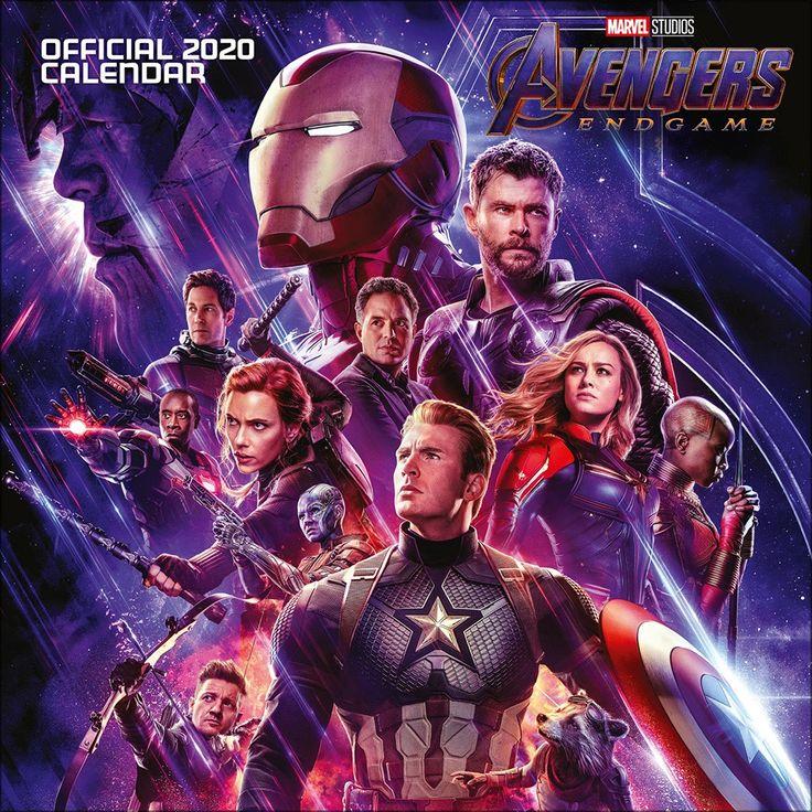 Marvel Avengers End Game 2020 Square Calendar in 2020
