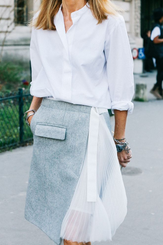 Street looks à la Fashion Week automne-hiver 2015-2016 de Paris - instagram.com/id_entry: