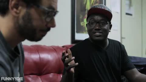"Comedian Hannibal Buress Tries To Buy Al Madrigal's ""Crazy Mexican Dad"" Joke [VIDEO]"