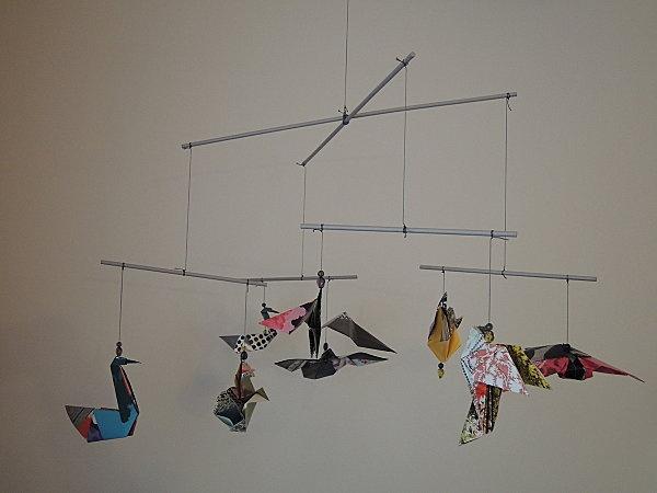 Fabrication d'un mobile origami