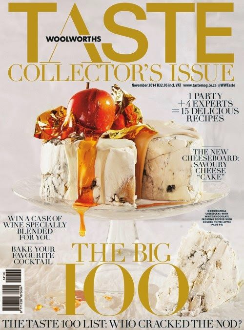 {Info Flash} -Woolworths TASTE magazine celebrates 100 issues ....with 100 Exclusive bottles of wine ..