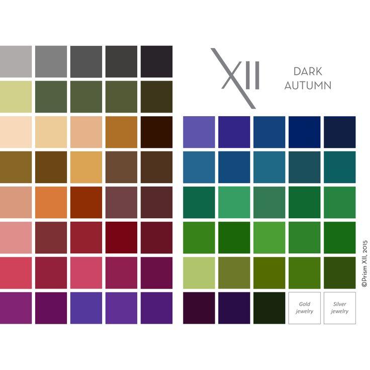 Dark Autumn Visual Guide – PrismXII
