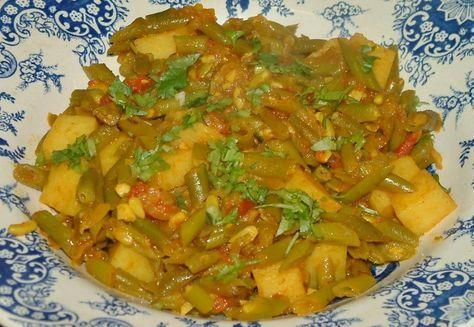 Indiase Kerrie Sperziebonen Met Aardappelen En Tomaat recept   Smulweb.nl
