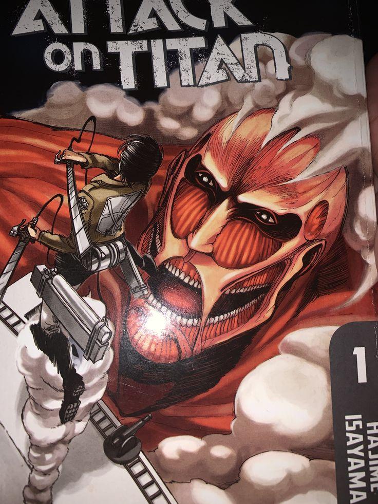 Attack on titan   Attack on titan, Manga covers, Manga ...