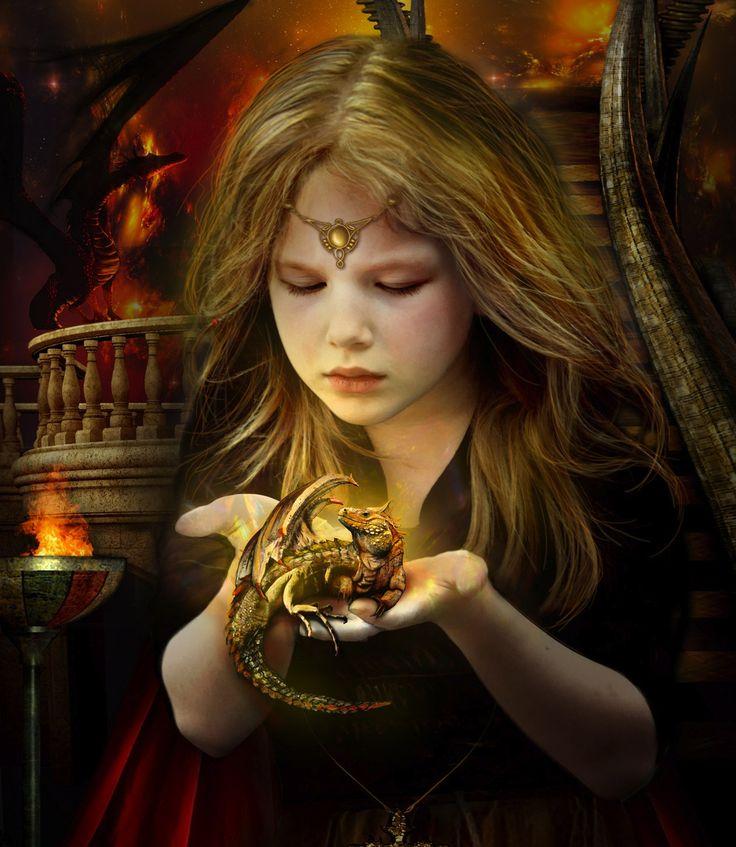 Les dragons ont toujours admirés la douceur des enfants, c'est également ce que pensent ces derniers...