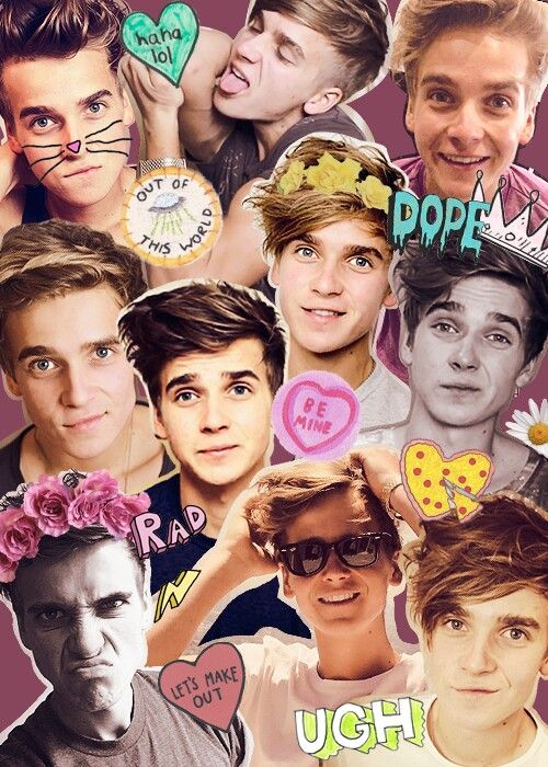 Day 1: favorite boy Youtuber - Joe Sugg. He's funny, creative, hot, makes the best impressions, Zoe's brother, and he's my fav.