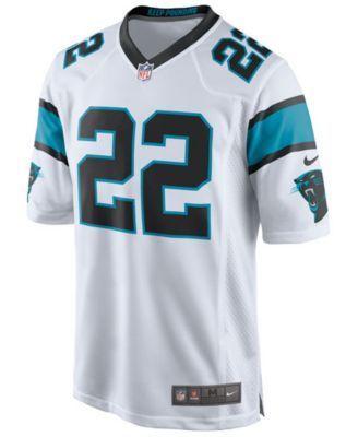 Nike Men's Christian McCaffrey Carolina Panthers Game Jersey - White XXL