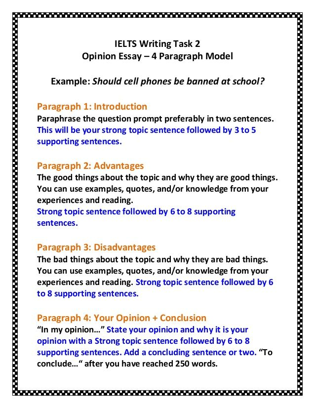 Related Image IELTS WRITING Opinion Essay Examples Opinion