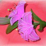 Tvorba kvet ľalie pančuchy