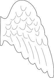 Image result for vorlagen für engelsflügel schablonen