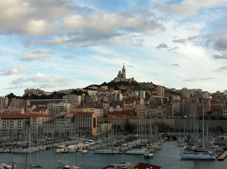 Le Vieux Port de #Marseille