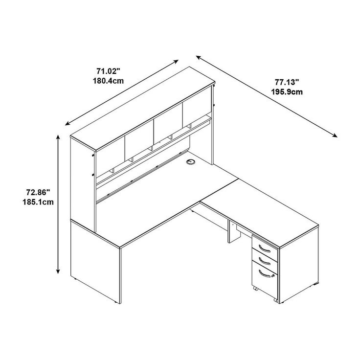 L Shaped Office Desk Dimensions - Executive Home Office Furniture Check more at http://www.drjamesghoodblog.com/l-shaped-office-desk-dimensions/