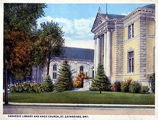 Old Carnegie Library, torn down 1977 the year I started at City Hall.