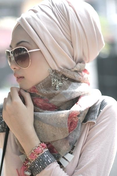 hijab turban, Turban fashion in many looks http://www.justtrendygirls.com/turban-fashion-in-many-looks/