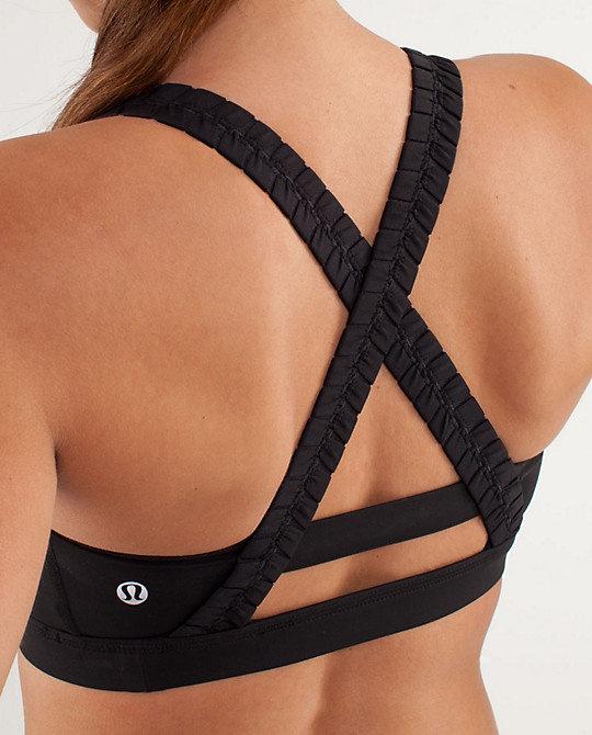 inner heart bra | lululemon athletica nice version of a must-need black sports bra
