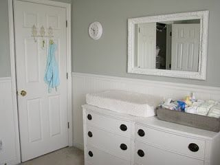 Baby Nursery Silver Sage Paint Color