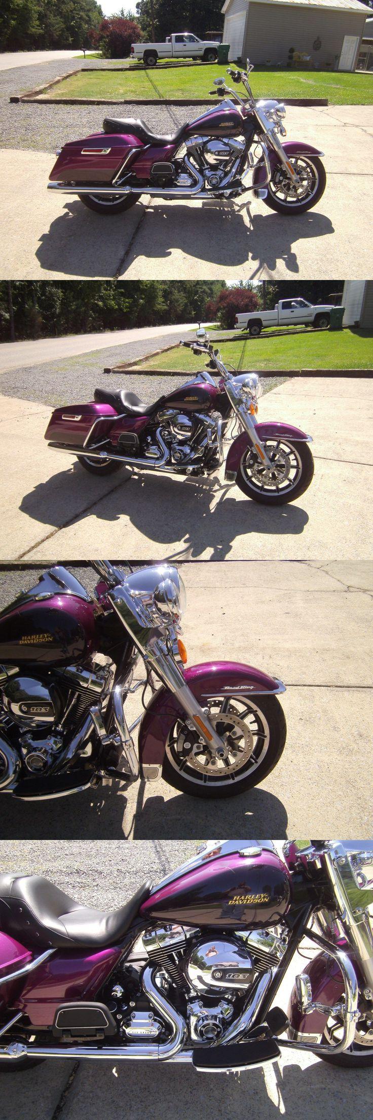 Motorcycles: 2016 Harley-Davidson Touring 2016 Harley Davidson Road King 913 Miles Ez Fix No Frame Or Fork Damage -> BUY IT NOW ONLY: $9995 on eBay!