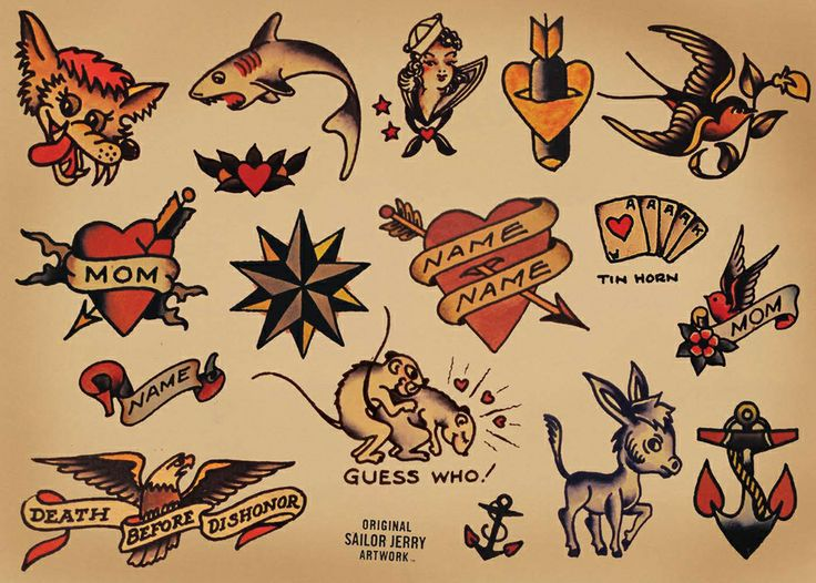 112 best Tattoo flash images on Pinterest | Traditional tattoos ...