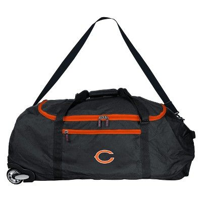 NFL Chicago Bears 36 Collapsible Duffle Bag