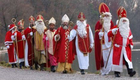 The many faces and outfits of Sinterklaas