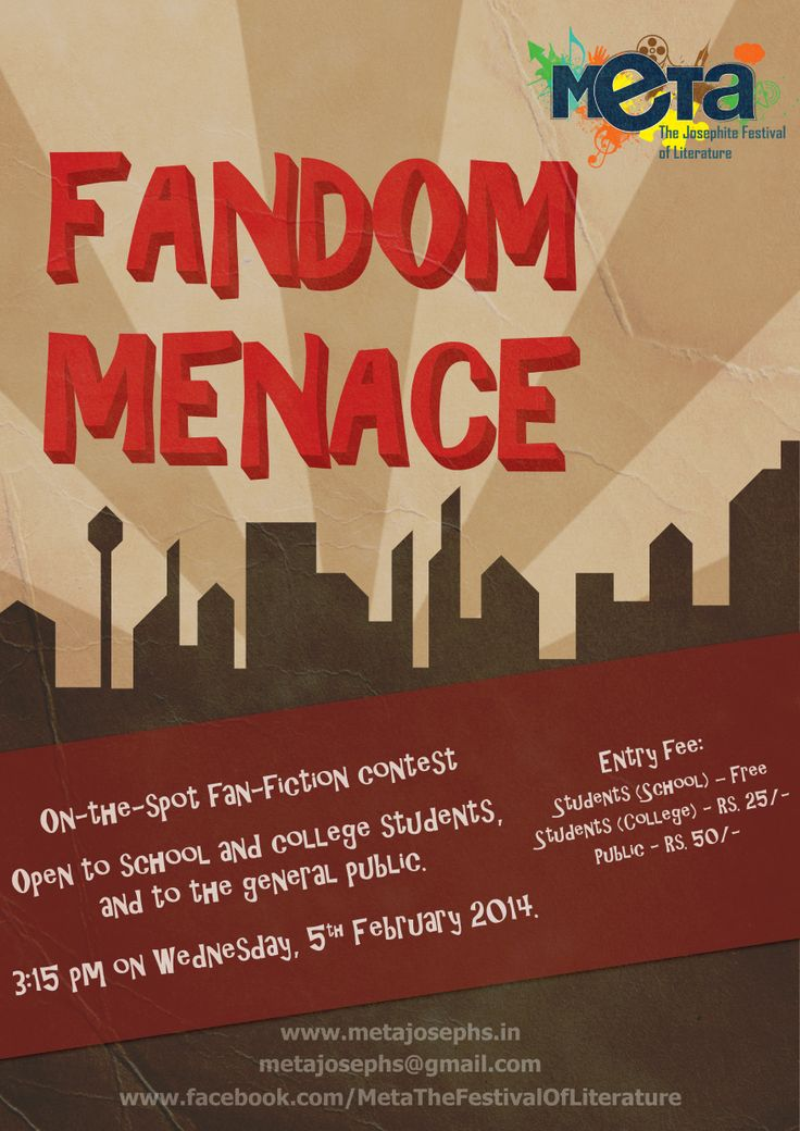 FANDOM MENACE wednesday 5th Feb 3:15