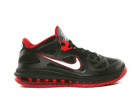 Nike Lebron 9 Low Black Sport Red Style Code:510811-003 This version of LeBron  James signature shoe boasts a low-top construction, all the while sporting  a ...