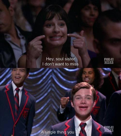 Kurt and Rachel #Glee season 2