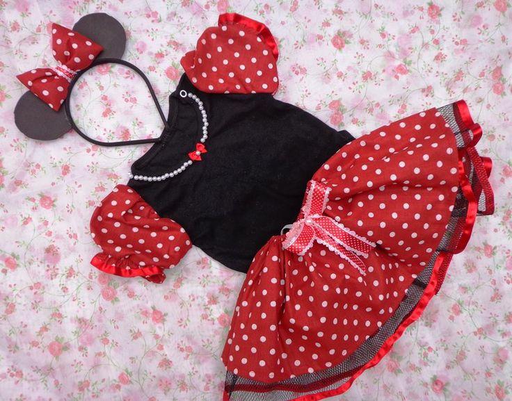 Fantasia da Minnie Vermelha