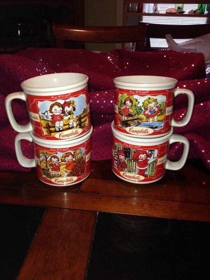 Collectible Campbell S Kids Soup Cup Bowl Mug 1998 Seasons