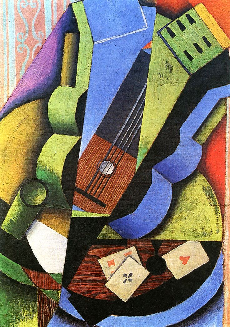 The Athenaeum - Three Playing Cards (Juan Gris - )