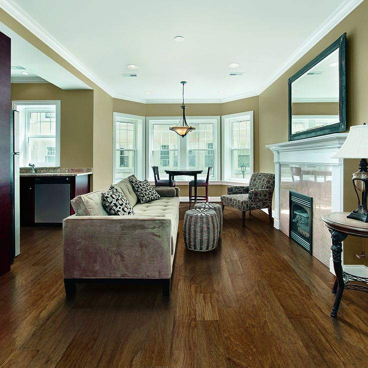 Engineered Hardwood Basement Part - 35: Available In Store; Shop Pergo MAX 5.36-in W Prefinished Hickory Locking  Hardwood Flooring. Hickory Hardwood FlooringHickory WoodEngineered  HardwoodBasement ...