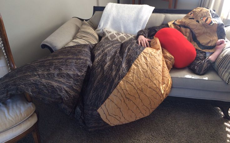 Female Jabba the Hutt Costume ( Laying down )