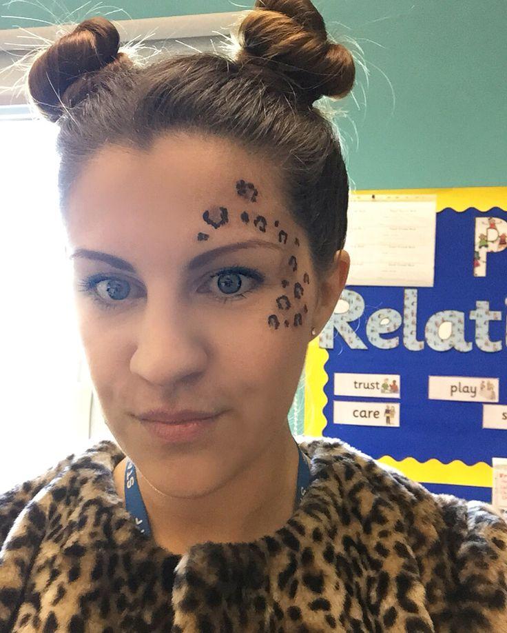 1000 Ideas About Leopard Face Paint On Pinterest