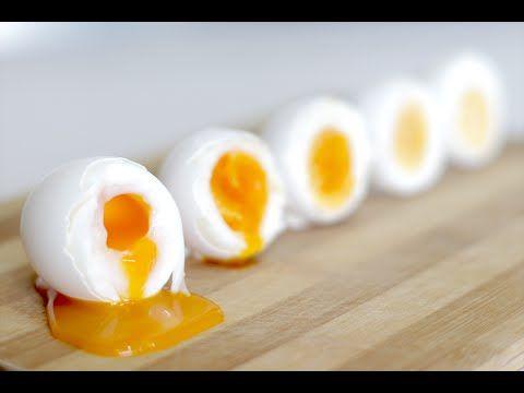 Сколько Варить Яйца Всмятку и Вкрутую - Запомни Раз и Навсегда - YouTube