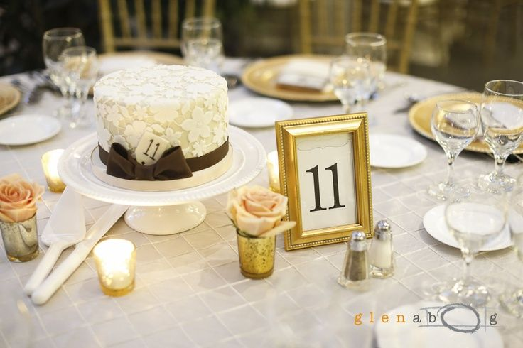 cake as centerpiece at wedding - Google Search