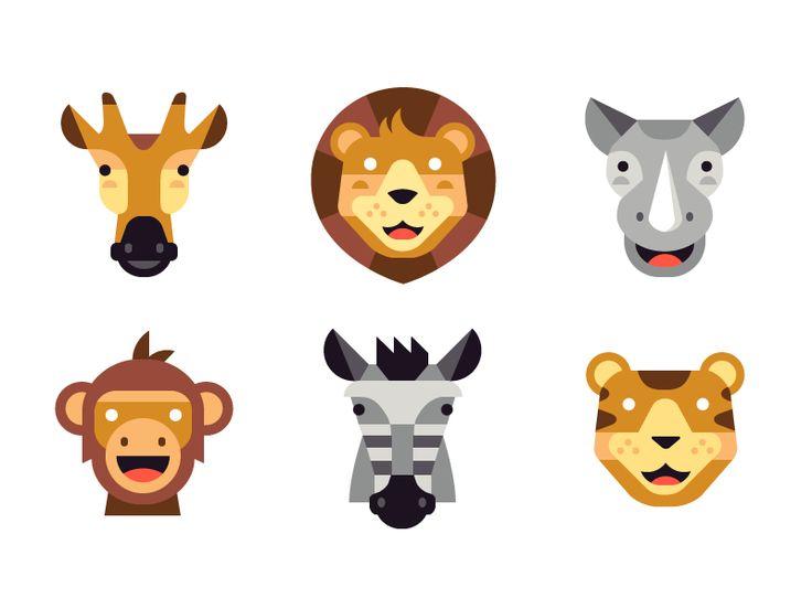 Safari Emojis by Matt Anderson