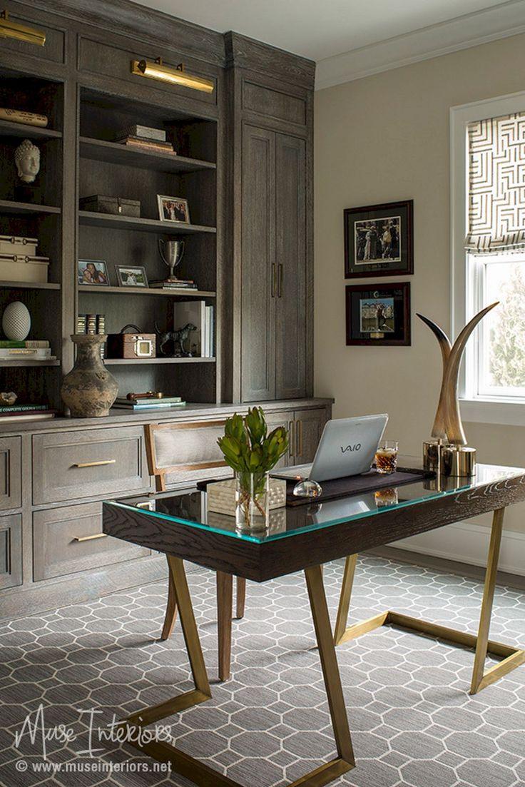 Home Study Room: 55+ Extraordinary Home Study Room Design Ideas / FresHOUZ