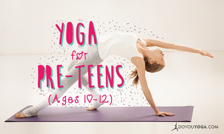 """When we say """"yoga is for everyone,"""" we mean everyone, even tweens! Here are some helpful tips to making yoga cool for pre-teens and creating a unique class!"""