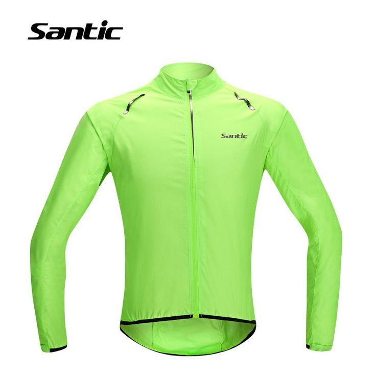 2017 Santic Cycling Jerseys Men Sunproof&Waterproof Outdoor Sports MTB Mountain Road Bicycle Clothing Rain Jacket Bike Raincoat