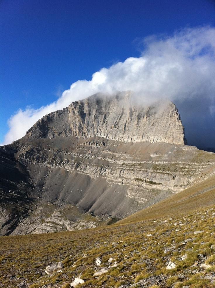 Mount Olympus, Stefani or the throne of Zeus