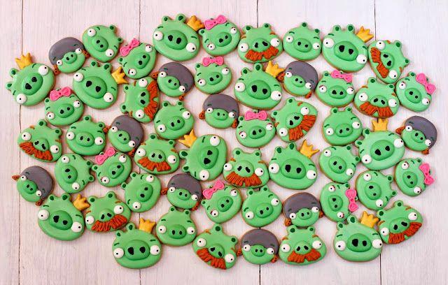 Postreadicción galletas decoradas, cupcakes y cakepops: Fiesta de Angry Birds