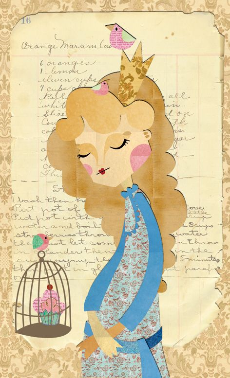 Princesa Mermelada, ilustración de Elena Catalán (Kipuruki)  The Princess Marmalade Illustration by Elena Catalán (Kipuruki)