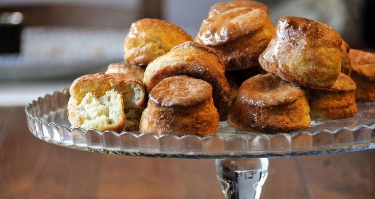 Biscuits με χαλούμι και άνηθο